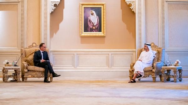 صحيفة الاتحاد - عبدالله بن زايد يستقبل وزير الخارجية الالماني