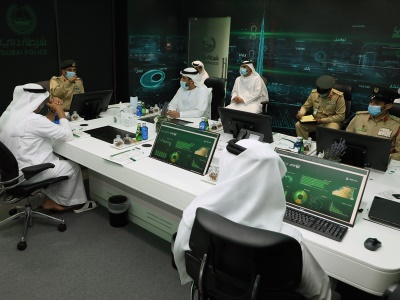 """عبدالله المري يبحث مؤشرات أداء """"التحقيقات الجنائية والتحقيقات"""""""